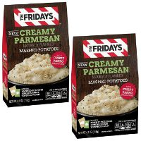Print a coupon for $0.50 off two packages of T.G.I. Fridays Mashed Potatoes