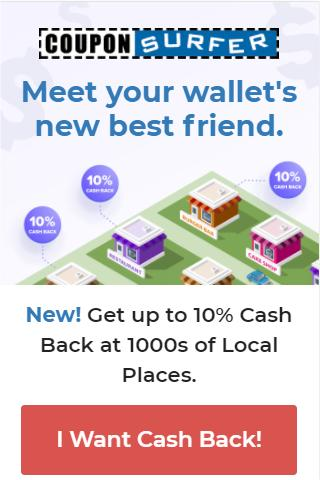 10% cash back at 1000s of restaurants, automatically!