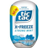 Print a coupon for $0.75 off one pack of Tic Tac Mints or Mixers