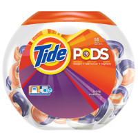 Print a coupon for $1.50 off one container of Tide Pods, 23ct or larger