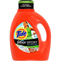 Print a coupon for $0.50 off Tide Laundry Detergent, 37oz or larger