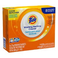 Print a coupon for $1 off Tide Washing Machine Cleaner