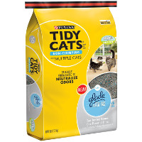Save $1.50 on one bag of Purina Tidy Cats Glade Cat Litter, 30lbs or larger