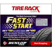 Tire Rack coupon - Click here to redeem