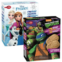 Print a coupon for $0.50 off one box of Kellogg's Disney Frozen or TMNT Oat Crisps