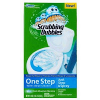 Print a coupon for $0.50 off one Scrubbing Bubbles Toilet Bowl Cleaner