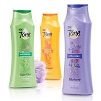 Save $1 on two Tone Body Washes or 6-Bar Pack of Tone Soap
