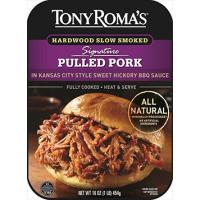 Print a coupon for $1.50 off Tony Roma's Pulled Pork or Boneless Spare Ribs