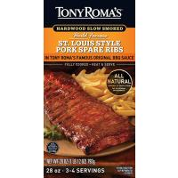 Save $2 on a package of Tony Romas BBQ Slab Ribs