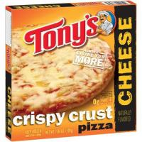 Save $0.50 on one Tony's Pizza, 18 oz or larger