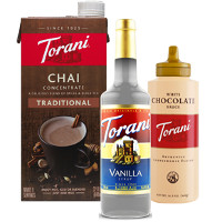 Print a coupon for $1 off any Torani Flavored Syrup, Sauce or Concentrate