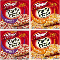 Save $1 on any four Totino's Crisp Crust Party Pizzas