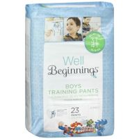 Print a coupon for $2 off one package of Well Beginnings Training Pants at Walgreens