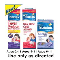 Print a coupon for $1 off one Triaminic Severe Cold product