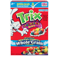 Silly Rabit - Save $0.75 on any box of Trix Cereal