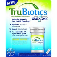 Print a coupon for $2 off one TruBiotics Product