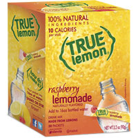 Print a coupon for $2.50 off any three True Lemon, Lime, Lemonade or Unsweetened product