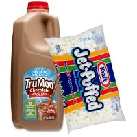 Print a coupon for $0.65 off a half-gallon or larger of TruMoo flavored milk AND a pack of Jet-Puffed Mini Marshmallows