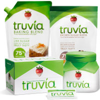 Save $0.75 on one package of Truvia Natural Sweetener, Baking Blend or Brown Sugar Blend