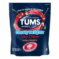Print a coupon for $1.50 off one bag of Tums Chewy Delights, 32ct. or larger