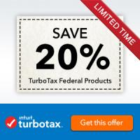 File your taxes for free with TurboTax  - Save $100 vs. H+R Block Stores and get your maximum refund guaranteed