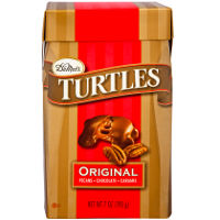 Print a coupon for $2 off one DeMet's Turtles product, 17.5 ounces