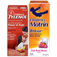 Print a coupon for $0.50 off one Children's or Infant's Tylenol or Motrin product