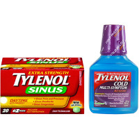 Print a coupon for $1 off one Tylenol Cold or Sinus product or Sudafed product