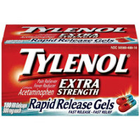 Print a coupon for $1 off any Tylenol Rapid Release Gels product