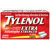 Print a coupon for $0.50 off one Tylenol product
