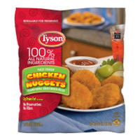 Print a coupon for $1 off any Tyson Chicken Nuggets