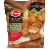 Print a coupon for $1 off one bag of Tyson Premium Selects Chicken