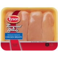 Save $1 on Tyson Trimmed and Ready Boneless Skinless Fresh Chicken Breast