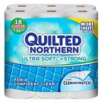 Save $1 on 2 Quilted Northern Bath Tissue