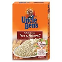 Save $1 on any 4 Uncle Ben's Rice products