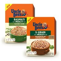 Print a coupon for $1 off four Uncle Ben's Rice products