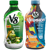 Print a coupon for $0.75 off one V8 V-Fusion or V8 Veggie Blends product