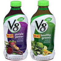 Print a coupon for $1 off one V8 Veggie Blends product