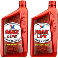 Print a coupon for $1 off two individual quarts of Valvoline MaxLife Motor Oil
