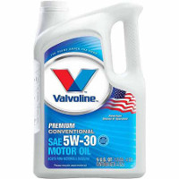 Save $3 on one 5-quart jug of Valvoline Conventional Motor Oil