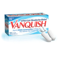 Print a coupon for $3 off any Vanquish Headache Relief Product