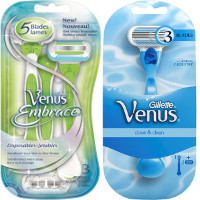 Print a coupon for $2 off a Venus Original or Embrace Disposable Razor