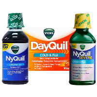 Print a coupon for $3 off any two Vicks NyQuil, DayQuil or Severe products