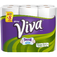 Print a coupon for $0.75 off Viva Paper Towels or Viva Vantage 6 rolls or more