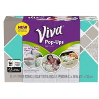 Print a coupon for $0.50 off Viva Pop-Ups - Paper Towels in a Box