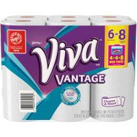 Print a coupon for $1 off one package of Viva or Viva Vantage Paper Towels, 6-pack or larger