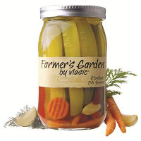 Print a coupon for $1 off any jar of Farmer's Garden by Vlasic Pickles