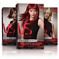 Print a coupon for $3 off Vidal Sassoon Salonist Hair Color