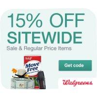 Get 20% regular priced items at Walgreens.com