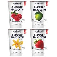 Print a coupon for $1 off any four Wallaby Organic Aussie Yogurts or Kefir